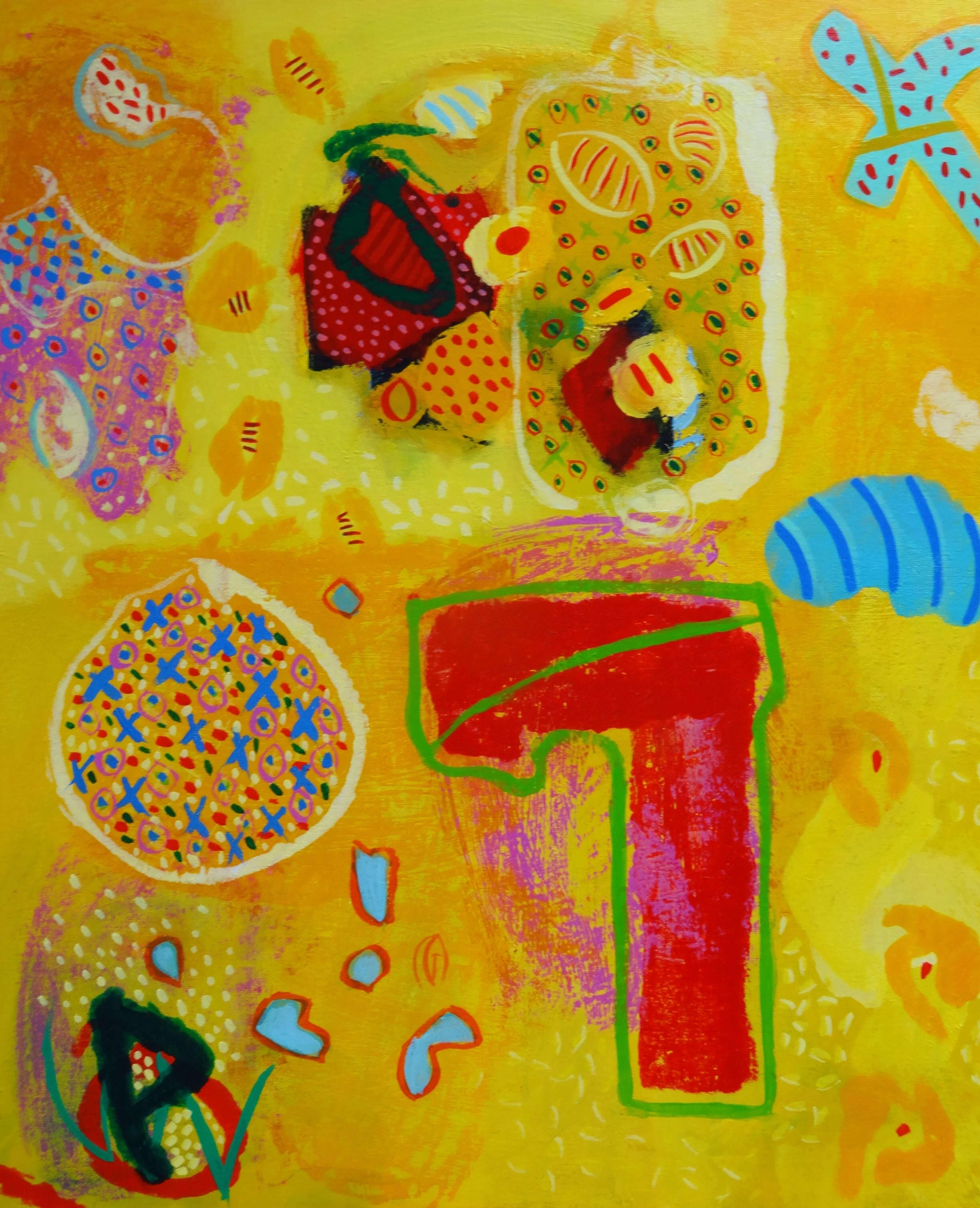 Acrylique - Patrick Gourmelen - Couleur des îles