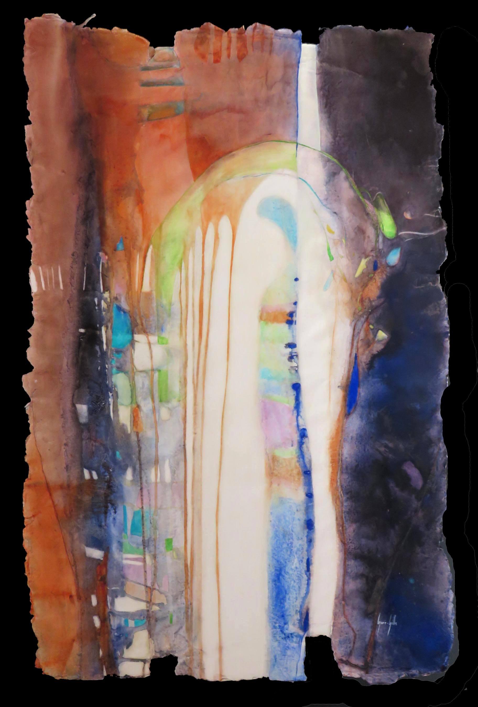Peinture - Marie-Gilles Le Bars - La visitée