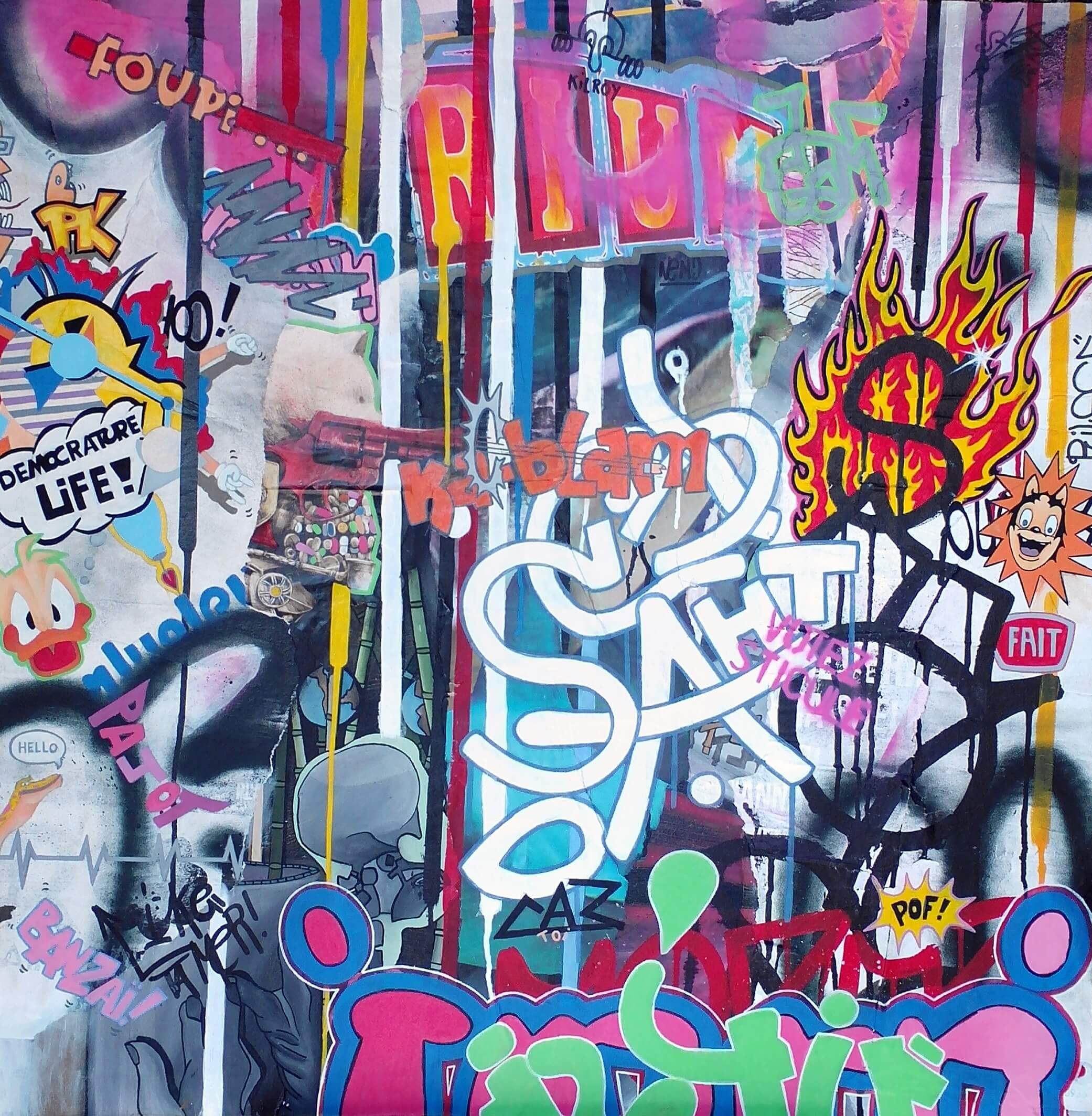Peinture - Emmanuel Pajot - Saht