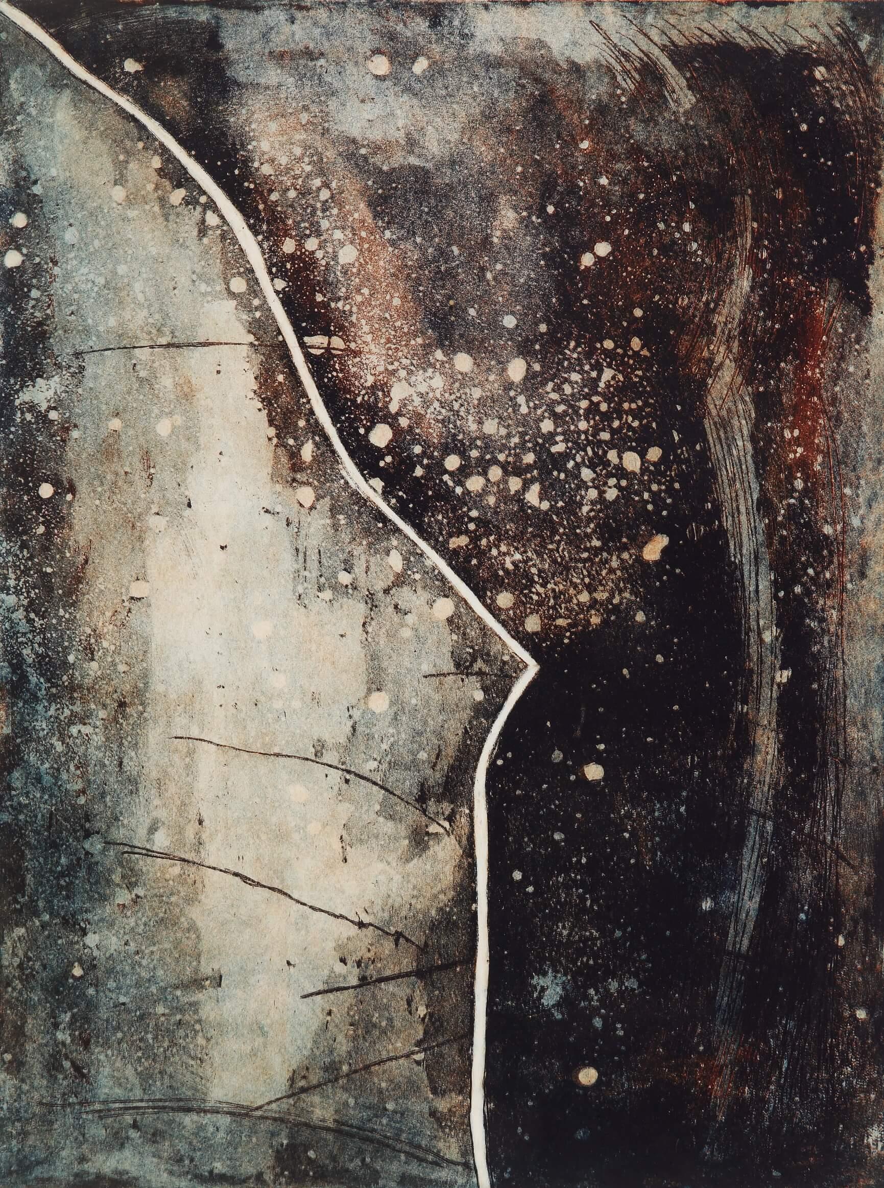 Peinture - Anne Thomas - Dérive